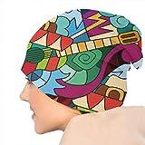 Immagine 2 uosliks hand drawn guitar hat