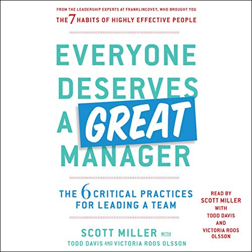Everyone Deserves a Great Manager cover art