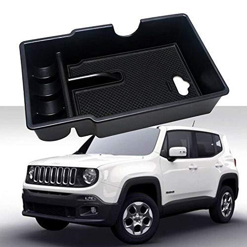 Anti-Rutsch-Auto-Center-Konsole Armlehne Box Handschuhfach Sekundärspeicher (schwarz)