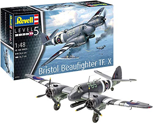 Revell Revell03943 Bristol Beaufighter TF.X - Kit de Modelo