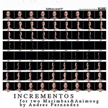 Incrementos for Two Marimbas & Animoog: I.