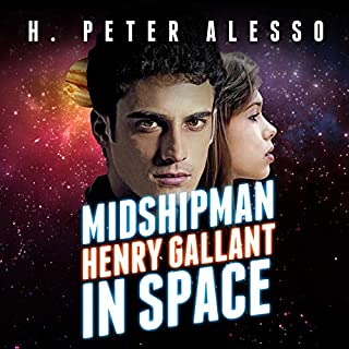 Midshipman Henry Gallant in Space audiobook cover art
