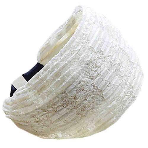 Mode dentelle bandeau cheveux/accessoire coiffure pour Les Filles, Beige