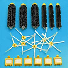 DORLIONA 18pcs Filters and Brushes Kit Replacement Vacuum Part for Irobot Roomba 700 Series Vacuum Cleaner