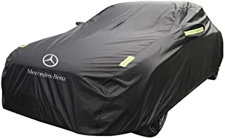 Asdfnfa Car Cover Thick Oxford Cloth Sun Rain Cover for Mercedes - Mercedes A-Series