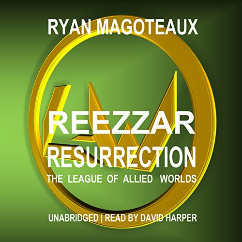 Reezzar Resurrection audiobook cover art