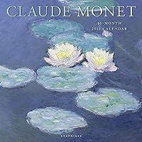 CLAUDE MONET 2021 CALENDAR (クロード モネ 水蓮 女性 風景 散策 2021年 カレンダー GF)