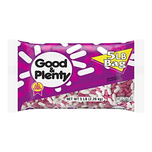 GOOD amp PLENTY Licorice Candy 80 Ounce Pack of 1