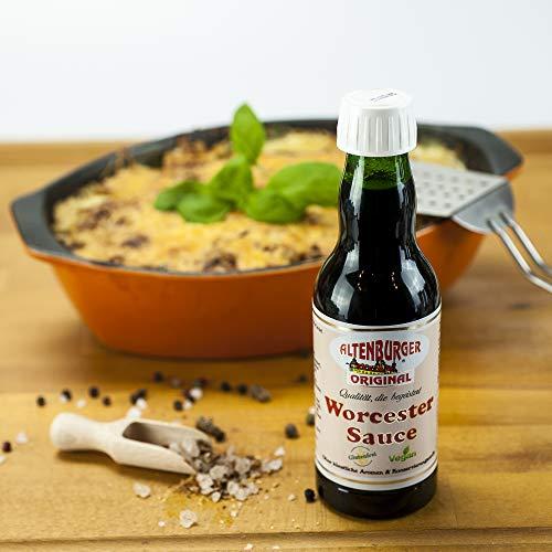 Altenburger Original Worcester Sauce, 200ml, Worcestershire Sauce glutenfrei, laktosefrei, vegan, ohne Zusatz von Aromen - 4