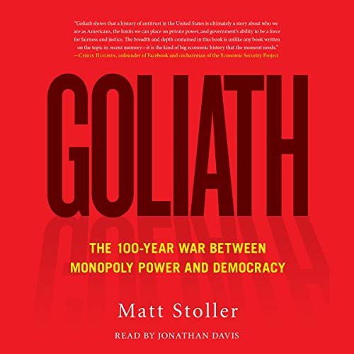 Goliath Audiobook By Matt Stoller cover art