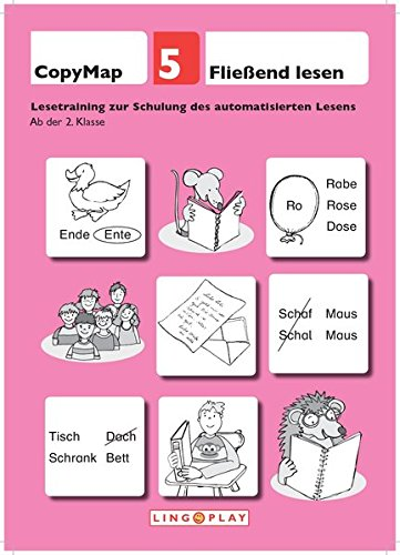 CopyMap 5: Fließend Lesen. Lesetraining zur Schulung des automatisierten Lesens