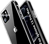 REALCASE Compatible with iPhone 12 Pro Max Case Back Cover, Clear Hard PC