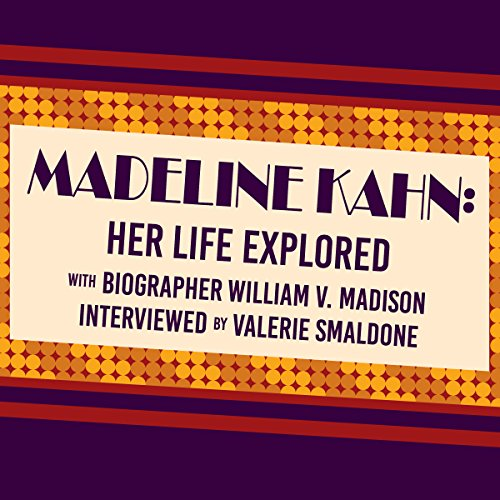 Madeline Kahn audiobook cover art