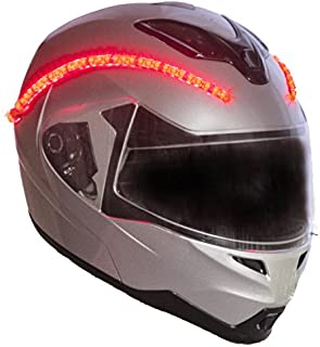 LightRider™ for Motorcycle Helmets — 360° Light with 'Power Link' to Motorcycle