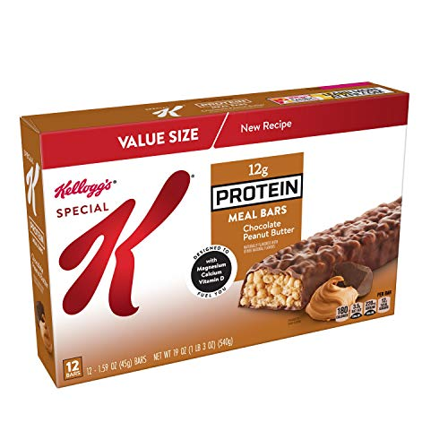 Special K Protein Meal Bars Chocolate Peanut Butter 19 Ounce