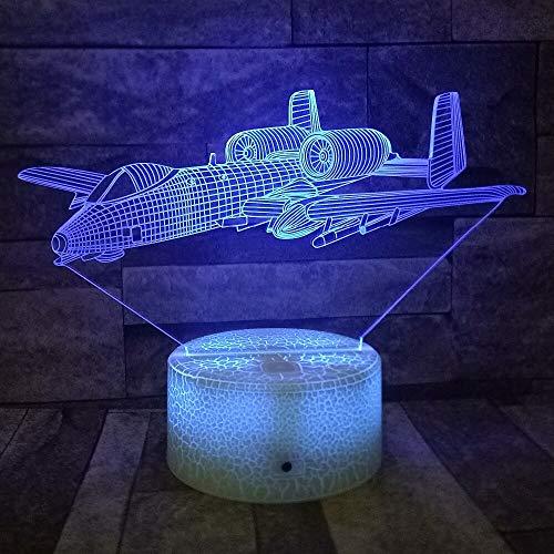 Jiushixw 3D acryl nachtlampje met afstandsbediening van kleur veranderende tafellamp cactus neon tafellamp groen visuele illusie lamp miniatuurmodel nachtlampje kleur nachtlampje voor cafe bar decoratie