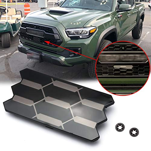 Xotic Tech OE Style Front Grill Garnish Radiator TSS Sensor Cover Replacement OE #53141-35060 Compatible with Toyota Tacoma TRD PRO 2018 2019 2020 2021
