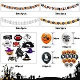 Zoom IMG-1 lisopo decorazioni halloween set 48