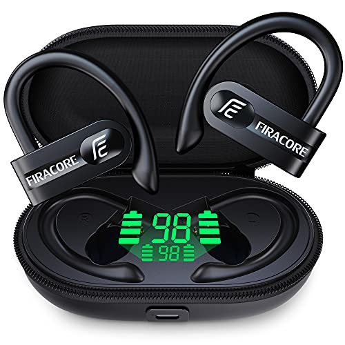 FIRACORE True Wireless Earbuds 72hrs Playtime Digital LED...
