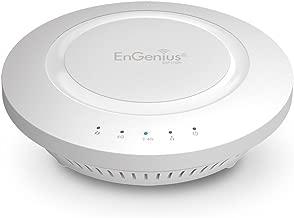 EnGenius 802.11ac 3x3 Dual Band, high-powered, long range, 28 dBm, Indoor Ceiling-Mount Wireless AP with integrated Antennas, gigabit port, (EAP1750H)