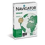 Navigator Universal - Caja de 5 paquetes de papel de impresión, A3, 80 g/m²