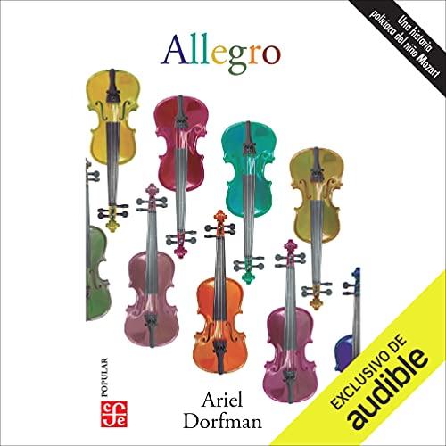 Diseño de la portada del título Allegro