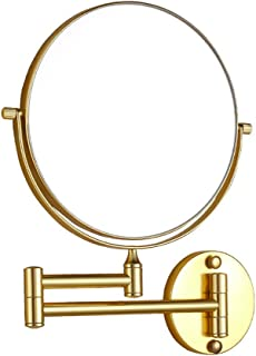 Qing MEI Bathroom Vanity Mirror Telescopic Folding Bathroom Beauty Mirror (Color : A)