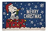 Nourison Peanuts Snoopy and Woodstock Merry Christmas Fall Entryway...