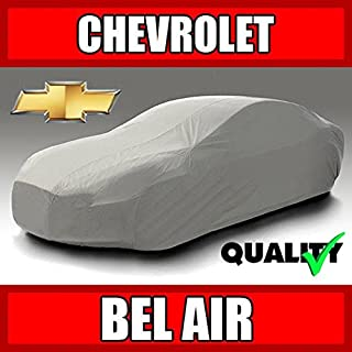 autopartsmarket Chevy Bel Air 2-Door 1953 1954 1955 1956 1957 1958 Ultimate Waterproof Custom-Fit Car Cover