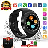 Smart Watches, Bluetooth Smart Watch Android Touchscreen with Camera, Phone Smartwatch with SIM