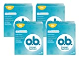O.B - O.B Compact Aplicador normal - 4 paquetes de 16 Unidades - [Total: 64 unidades]