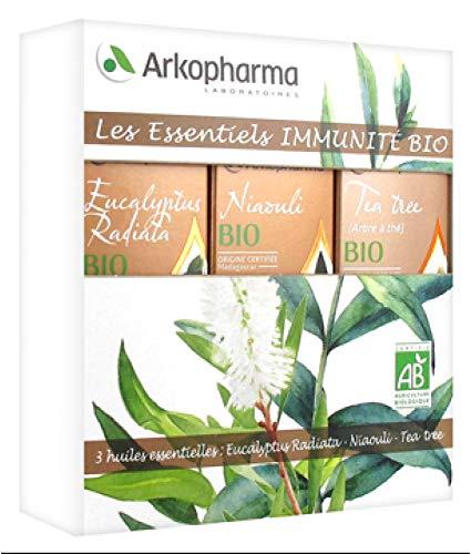 Arkopharma Les Essentiels Immunità Bio 3 Oli Essenziali