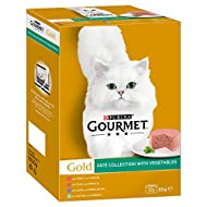 Gourmet Gold Adult Cat Pate Collection, 12 x 85g