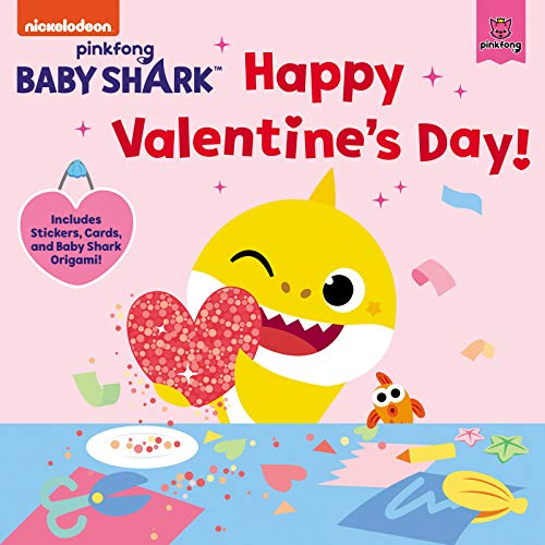 Happy Valentine's Day, Baby Shark!: Includes Stickers, Cards, and Baby Shark Origami!