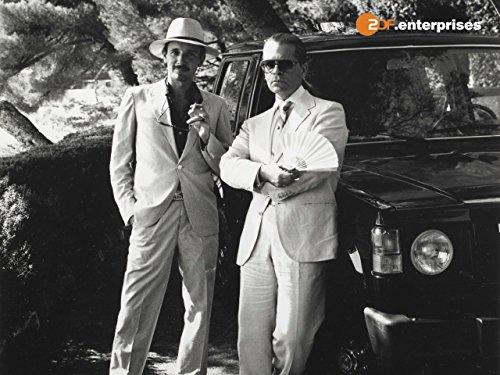 Lagerfeld und Yves Saint-Laurent