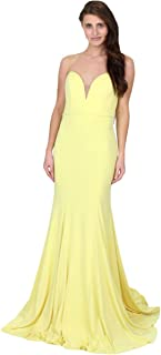 32801A Prom Strapless Evening Dress