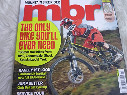 MBR Mountain bike rider magazine october 2013 - nov 2012 - feb 2013 - sept 2012