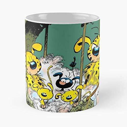 92Wear Marsupilami - Best 11 Ounce Cerámica Coffee Mug Gift