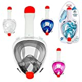 Tienda Eurasia - Máscara Facial de Buceo (Snorkel), Anti-Fugas y...