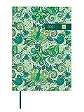 Finocam - Agenda 2021 1 Día página Dynamic Porto Design Verde Catalán - 145 x 210 mm
