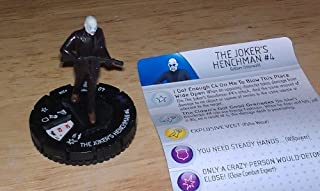 DC Heroclix Dark Knight Rises TARGET Gravity The Joker's Henchman #4