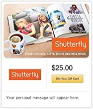 Shutterfly Gift Cards - Email Delivery
