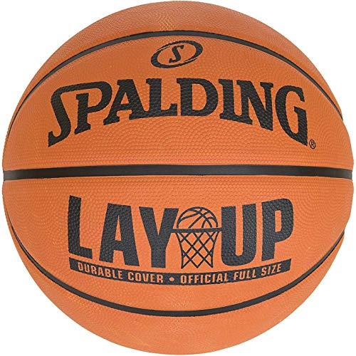 Spalding Layup - Balón de baloncesto, color naranja