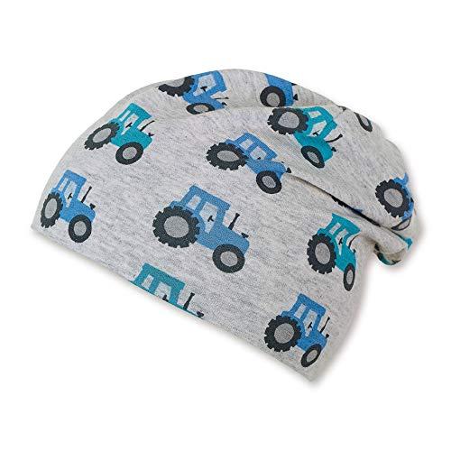 Sterntaler Baby-Jungen Slouch Beanie Hat Mütze, Grau (Silber 513), XXXX-Large (Herstellergröße: 47)