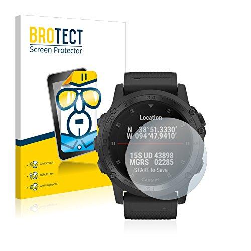 BROTECT Schutzfolie kompatibel mit Garmin D2 Charlie/Tactix Charlie (2 Stück) klare Displayschutz-Folie