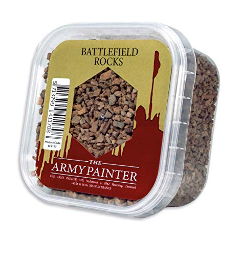 The Army Painter Battlefield Essential Series: Battlefield Rocks for Miniature Bases and Wargame Terrains - Small Stones for Bases of Miniature Toys, 150 ml
