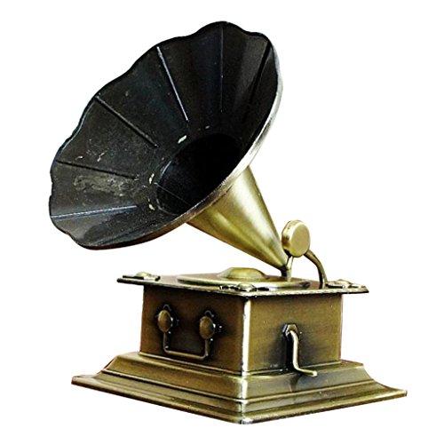 sharprepublic Retro Fonógrafo Modelo Vintage Tocadiscos