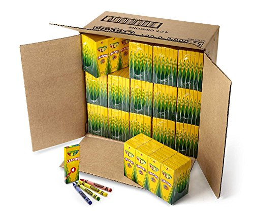 Crayola Crayons Bulk, 360 Box Classpack, 4 Assorted Colors