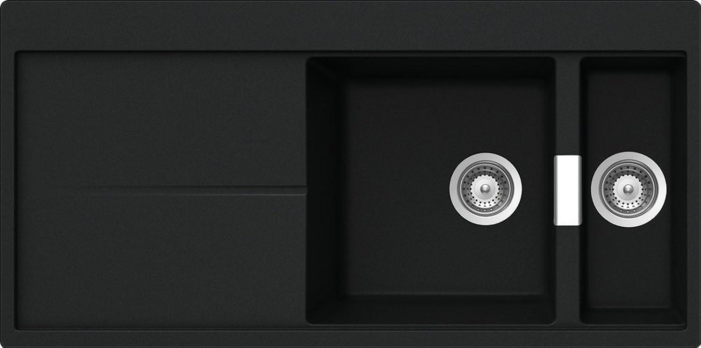 Schock Küchenspüle Horizont D-150, Auflage in Magma