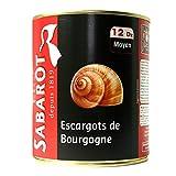 Sabarot - Escargots de Bourgogne 12 douzaines 465g